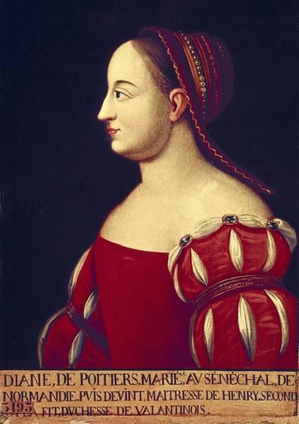 1566 Photograph - Diane De Poitiers, Duchesse De by Everett