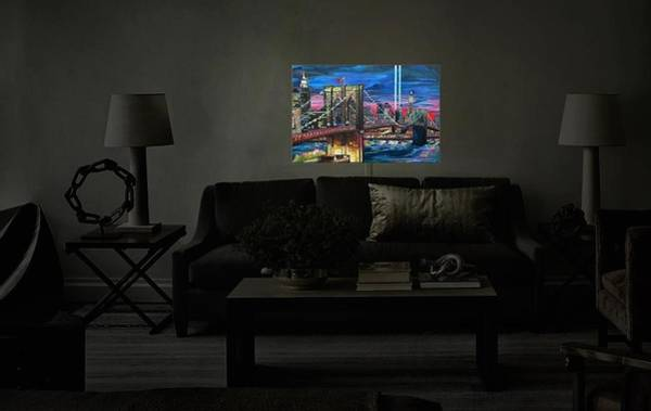 Painting - Dianochedesigns Illuminated Artwork by Patti Schermerhorn