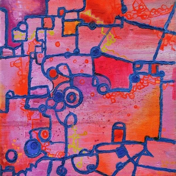 Painting - Dichotomy by Regina Valluzzi
