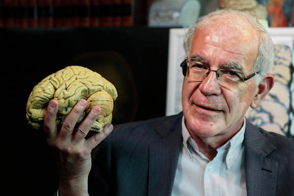 Neurobiology Photograph - Dick Swaab by Thierry Berrod, Mona Lisa Production