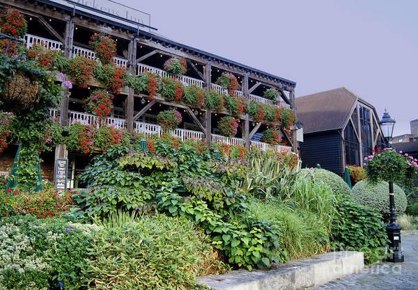 Photograph - London's Dickens Inn by David Birchall