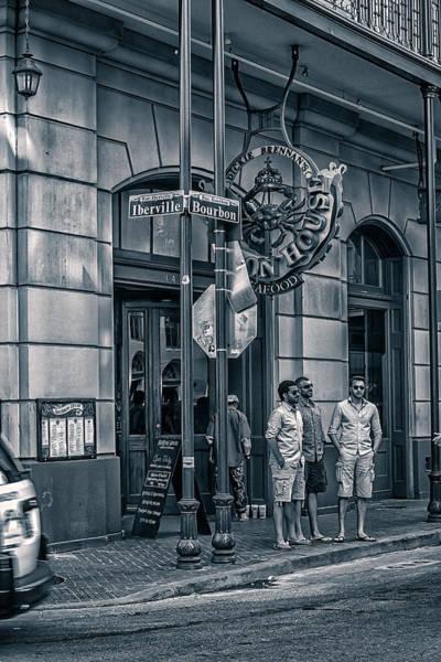 Lower Ninth Ward Photograph - Dickie Brennan's Bourbon House by Sennie Pierson