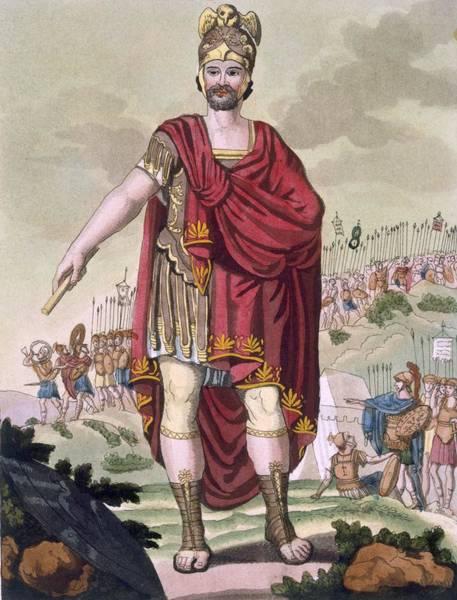 Roman Soldier Drawing - Dictator, 1796 by Jacques Grasset de Saint-Sauveur