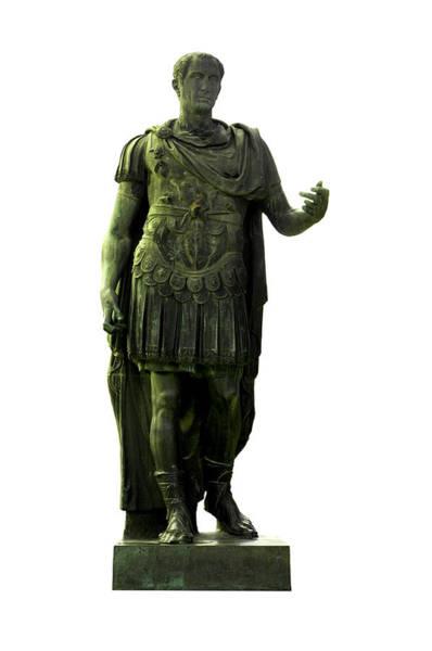 Cut Out Wall Art - Photograph - Dictator Julius Caesar by Fabrizio Troiani