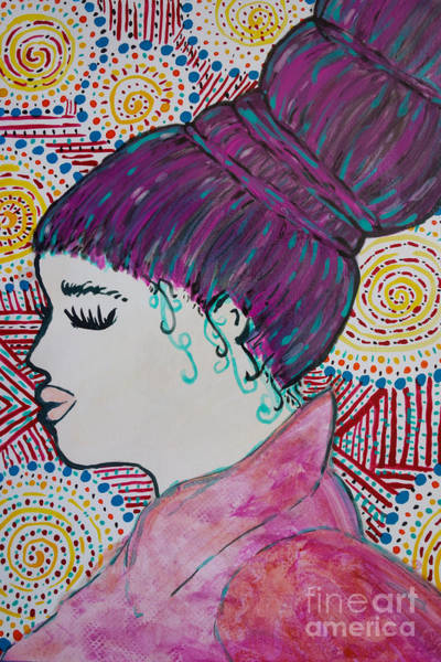 Painting - Did You See Her Hair by Jacqueline Athmann