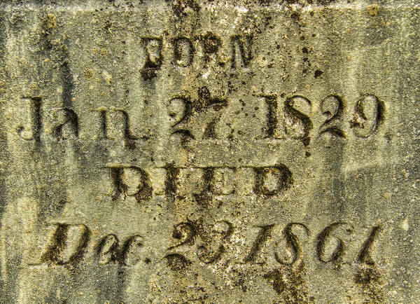 Photograph - Died by Jean Noren