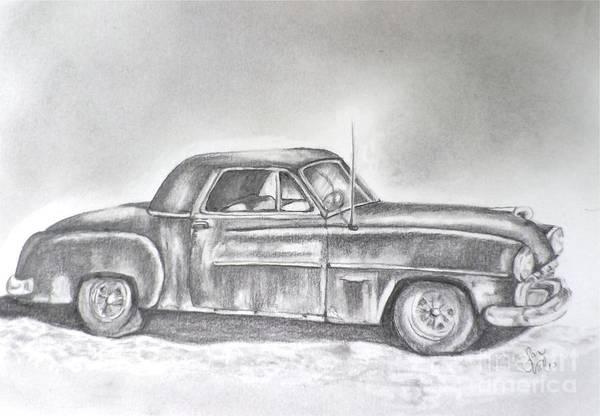 Wall Art - Drawing - Diehard Dodge by Sandra Valentini