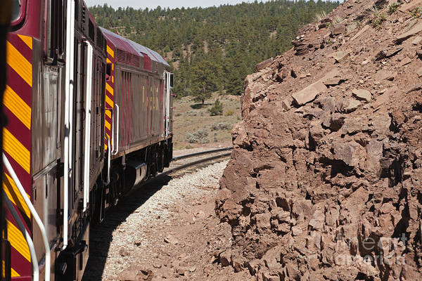 Photograph - Diesel Electric Engine 227 And 459 Rio Grande Scenic Rail Road by Fred Stearns