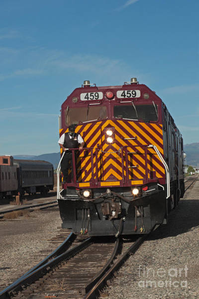 Photograph - Diesel Electric Engine 459 Rio Grande Scenic Rail Road by Fred Stearns