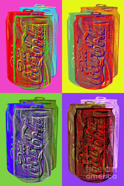 Diet Coke - Coca Cola Art Print