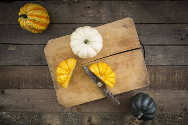 Different Sorts Of Mini Squashes Art Print by Westend61
