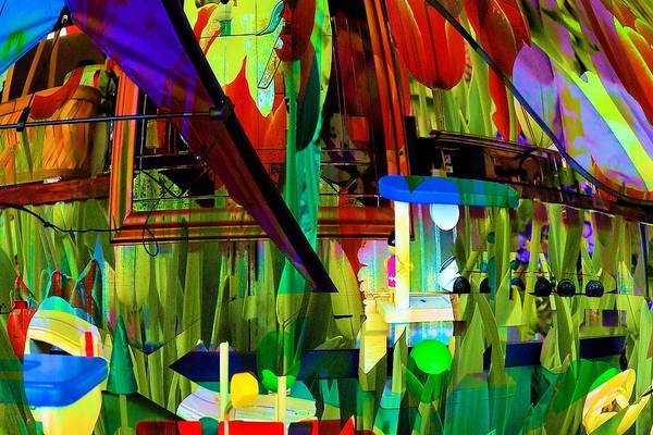 Multiple Exposure Digital Art - Digital Abstract #7 by Michel Kotski