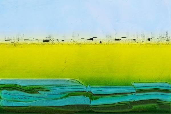 Digital Art - Digital City Landscape by Kae Cheatham