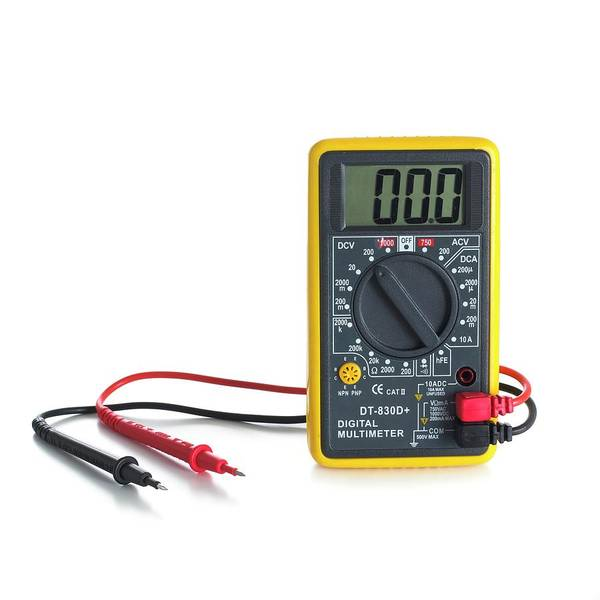 Ac Dc Wall Art - Photograph - Digital Multimeter by Science Photo Library