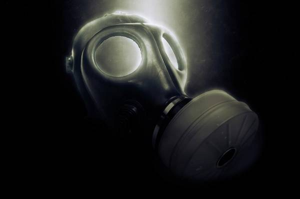 Gasmask Photograph - Digitally Enhanced Gas Mask by Photostock-israel/science Photo Library