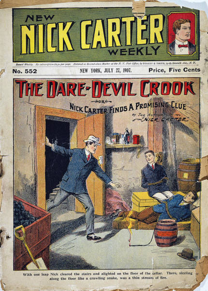 Drawing - Dime Novel, 1907 by Granger