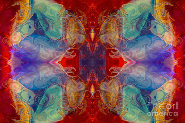 Digital Art - Dimensional Realities Abstract Pattern Artwork By Omaste Witkowski by Omaste Witkowski