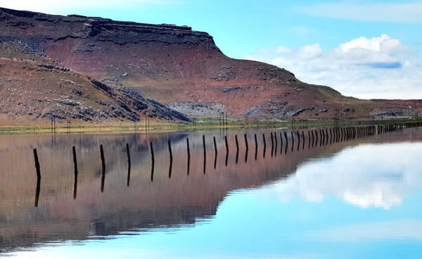 Desolation Photograph - Dimensional Reflections  by Steven Milner