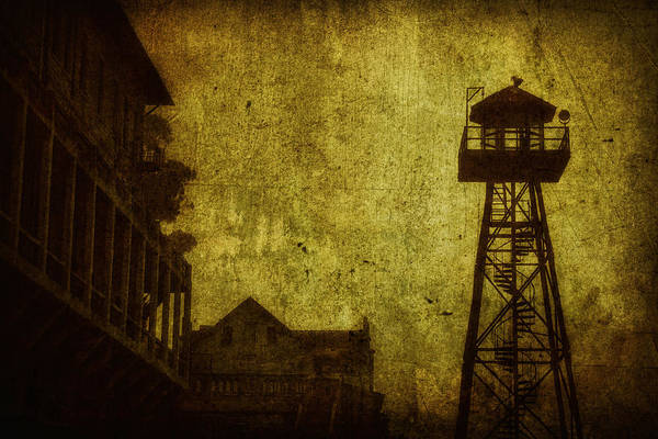 Guard Tower Wall Art - Photograph - Diminished Dawn by Andrew Paranavitana