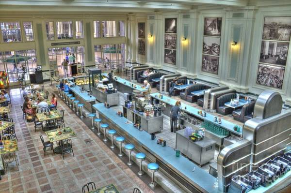 Photograph - Diner - Union Station Kansas City by Crystal Nederman