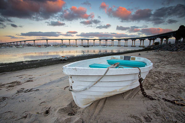 Coronado Photograph - Dinghy I by Peter Tellone