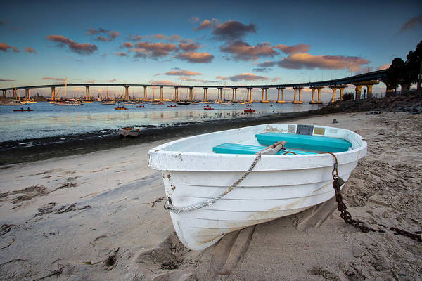 Coronado Photograph - Dinghy II by Peter Tellone