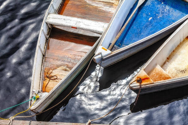 Photograph - Dinghy Trio by Robert Clifford