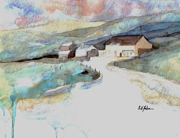 Dingle Peninsula Wall Art - Painting - Dingle Way  by Robert Yonke