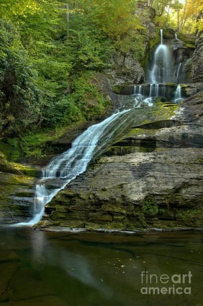 Photograph - Dingmans Falls Summer Portrait by Adam Jewell