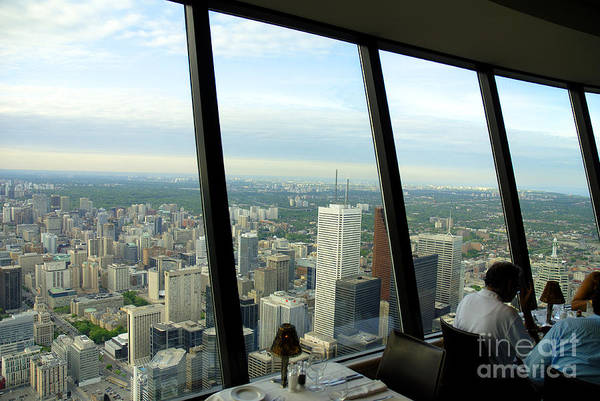 Photograph - Dining At The Top Table by Brenda Kean