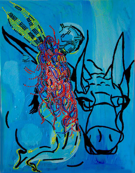 Dinka Groom - South Sudan Art Print