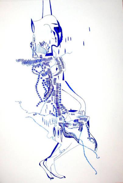 Dinka People Drawing - Dinka Totem - South Sudan by Gloria Ssali