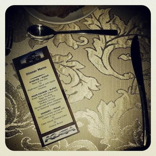 Wall Art - Photograph - Dinner Thanks To @fordsouthafrica by Coral-Leigh Stuart-deLange