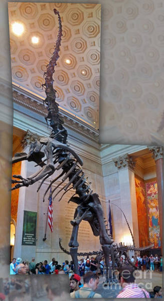Photograph - Dinosaur In New York by Gregory Dyer
