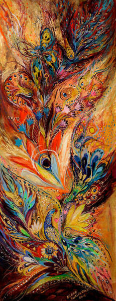 Wall Art - Painting - Diptych The Moments Of Love Part I by Elena Kotliarker