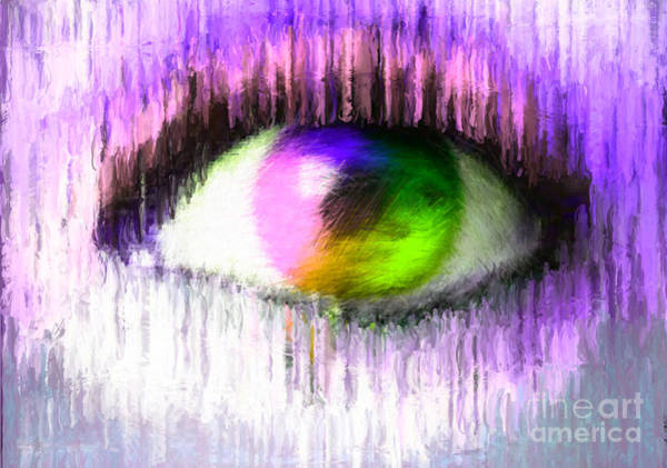Nonprofit Digital Art - Direct Eye Contact by Holley Jacobs