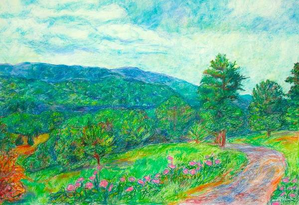 Painting - Dirt Road To The Blue Ridge by Kendall Kessler