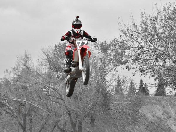 Dirtbike Photograph - Dirtbike by Savanna Paine