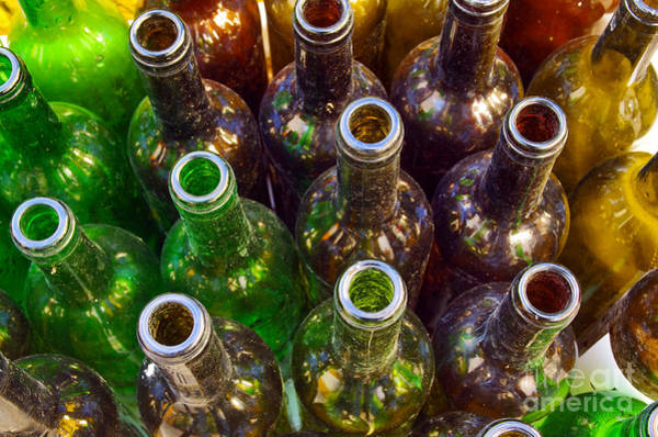 Wall Art - Photograph - Dirty Bottles by Carlos Caetano