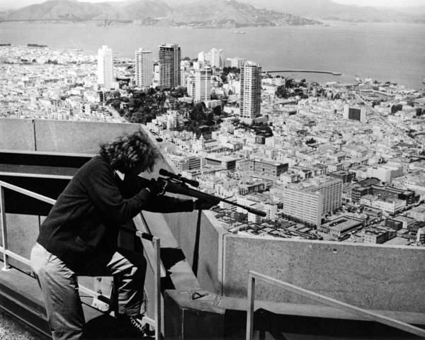 Robinson Photograph - Dirty Harry  by Silver Screen