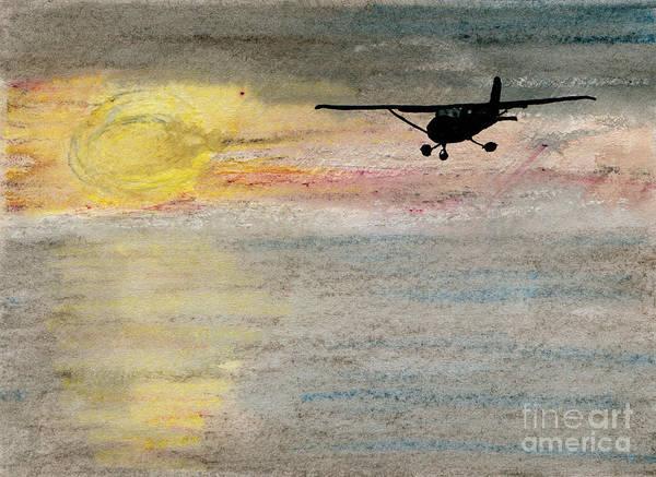 Daring Painting - Disappearing Horizon by R Kyllo