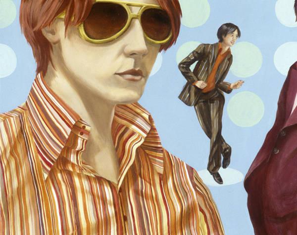 Wall Art - Photograph - Disco 2000 2 Acrylic On Canvas by Alix Soubiran-Hall