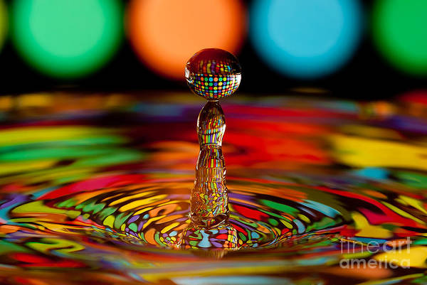 Photograph - Disco Ball Drop by Anthony Sacco