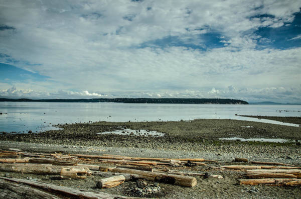Photograph - Low Tide Along The Discovery Passage by Roxy Hurtubise