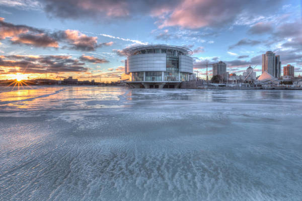 Discovery World On Ice Art Print