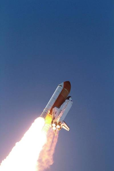 Wall Art - Photograph - Discovery's Final Launch by Nasa/science Photo Library