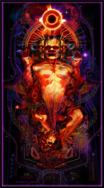 Pinball Digital Art - Discrete Gamble by George Demchev