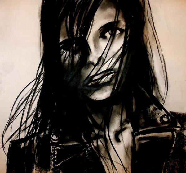 Drawing - Disheveled by Jason Reinhardt