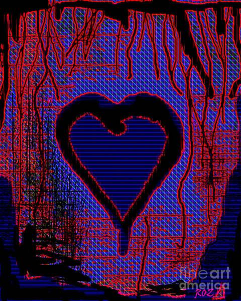 Disintegration Painting - Disintegration by Roz Abellera