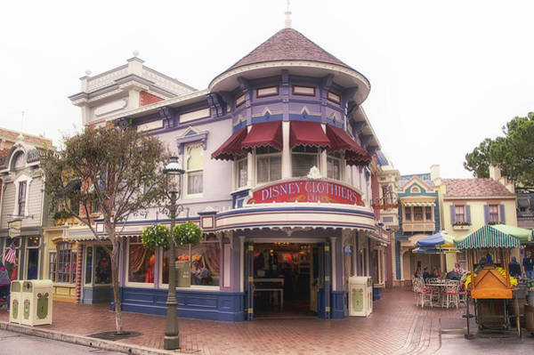 Clothier Photograph - Disney Clothiers Main Street Disneyland 02 by Thomas Woolworth